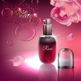 Rose Water Image Stock Image