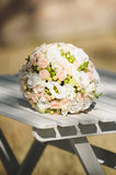 Rose Wedding Bouquet Royalty Free Stock Photography