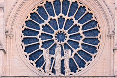 Rose-window Stock Photography