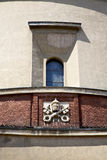 Rose window  italy  lombardy     in  the lonate ceppino old   ch Stock Photo