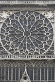 Rose Window Notre Dame Royalty Free Stock Photo