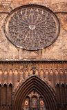Rose Window St Maria del Pi Barcelona Royalty Free Stock Photos
