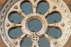 Rose Window Szeged arkivbild
