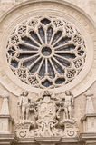Rose window Stock Photo