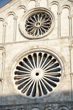 Rose Windows Royalty Free Stock Photo