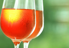 Rose wine royalty free stock photo
