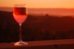 Rose Wine Stock Image