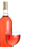 Rose wine royalty free stock photos