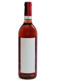 Rose wine bottle Royalty Free Stock Image