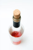 Rose wine bottle Stock Photos