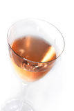 Rose wine in a glass Royalty Free Stock Image