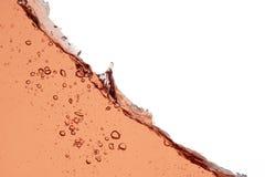 Rose wine splash - close up abstract background Royalty Free Stock Image