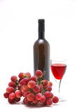 Rose wine and vine Stock Photos