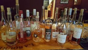 Rose Wines Lizenzfreie Stockbilder