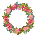 Rose Wreath Royalty Free Stock Images