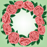 Rose wreath Royalty Free Stock Photos