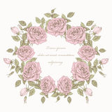Rose wreath Royalty Free Stock Photography