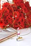 Rose y pomada Foto de archivo libre de regalías