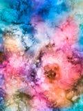Rose y turquesa florales Fotos de archivo