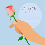 Rose for you. Royalty Free Stock Photo