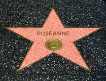 Roseanne Barr gwiazda na Hollwyood spacerze sława Obraz Stock