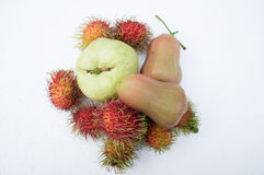 Roseapple lata owocowy tropikalny słodki pojęcie Fotografia Royalty Free
