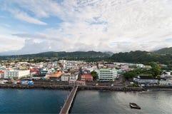 Roseau, Caraïbisch Dominica, stock fotografie