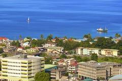 Roseau, Dominica stock fotografie