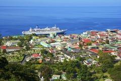 Roseau, Dominica stockfotografie