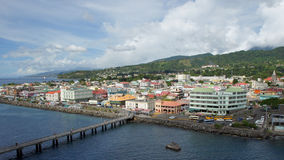 Roseau, Dominica, Caribbean royalty free stock images