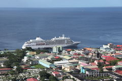 Roseau, Dominica, Caribbean Islands Royalty Free Stock Photography