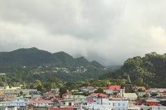 Roseau, Dominica, islas caribeñas Foto de archivo libre de regalías