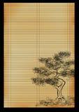 roseau japonais de couvre-tapis illustration libre de droits