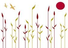 roseaux Image libre de droits