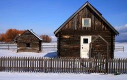 Roseberry Pioneer Cabins 2 stock photos