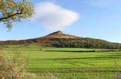 Roseberry Topping royalty free stock photo