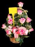Roseblumenstrauß stockfoto