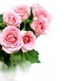 Roseblumenstrauß Stockfotografie