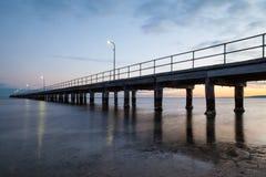 Rosebud Pier Stock Images