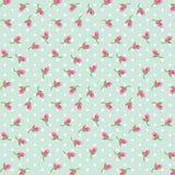 Rosebuds patroon stock illustratie
