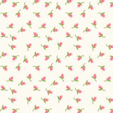 Rosebuds pattern 3 Royalty Free Stock Images