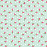 Rosebuds pattern Royalty Free Stock Image