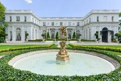 Rosecliff豪宅-纽波特,罗德岛州 免版税图库摄影