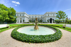 Rosecliff Mansion - Newport, Rhode Island. NEWPORT, RHODE ISLAND - AUGUST 1, 2013: Rosecliff. built 1898-1902, is one of the Gilded Age mansions, in Newport, as Royalty Free Stock Images