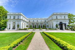 Rosecliff Mansion - Newport, Rhode Island. NEWPORT, RHODE ISLAND - AUGUST 1, 2013: Rosecliff. built 1898-1902, is one of the Gilded Age mansions, in Newport, as Stock Images