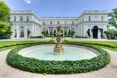 Rosecliff Mansion - Newport, Rhode Island. NEWPORT, RHODE ISLAND - AUGUST 1, 2013: Rosecliff. built 1898-1902, is one of the Gilded Age mansions, in Newport, as stock image