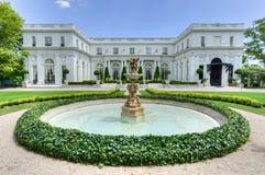 Rosecliff Mansion - Newport, Rhode Island Stock Image