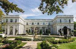 Rosecliff Mansion Newport Rhode Island royalty free stock image