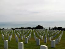 Rosecrans National Cemetery Royalty Free Stock Images