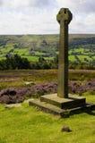 Rosedale修道院千年十字架 库存照片
